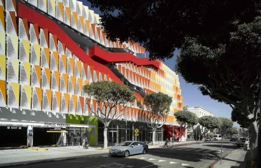 CoSM 6: Fachada Estructural en Estacionamiento_Behnisch Architekten