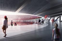 OMA: Nuevo Estadio Feyenoord en Róterdam