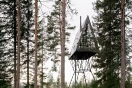 Espen Surnevik: Cabañas PAN-Treetop