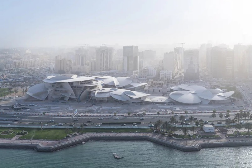 Jean Nouvel_Museo Nacional de Qatar